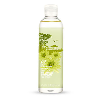 The Body Shop, The Body Shop Amazonian Wild Lily Shower Gel, shower gel, body wash, shower