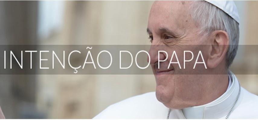 INTENÇÕES DO SANTO PADRE -  OUTUBRO