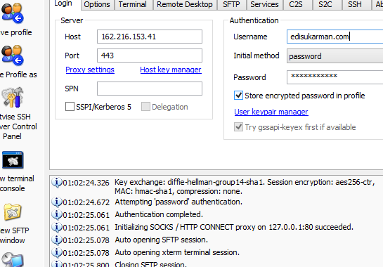 Free SSH USA 22 September 2014