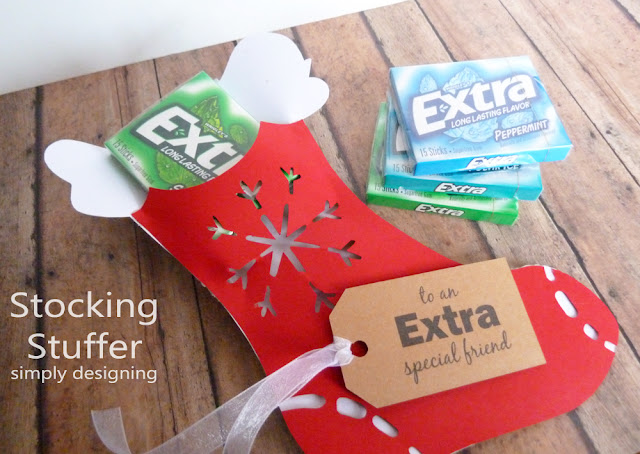 Stocking Stuffer Gift Idea | #holiday #holidaygifts #freeprintable #christmas #diygifts #stockingstuffer #giveextragum #shop #sponsored #cbias