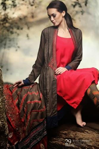 Firdous Marina Shawl Wraps 2015