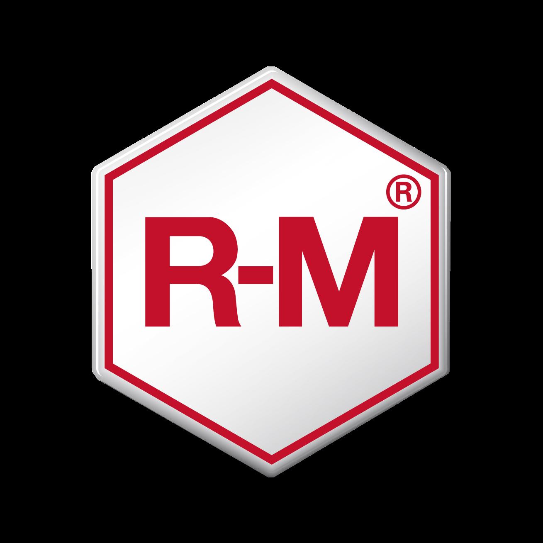 Logo de la empresa R-M.