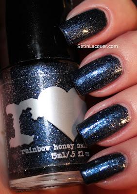 Rainbow Honey Kawako nail polish