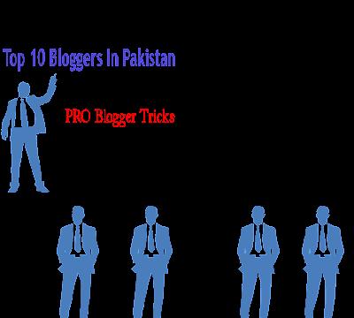 Top 10 blogger & blog of Pakistan