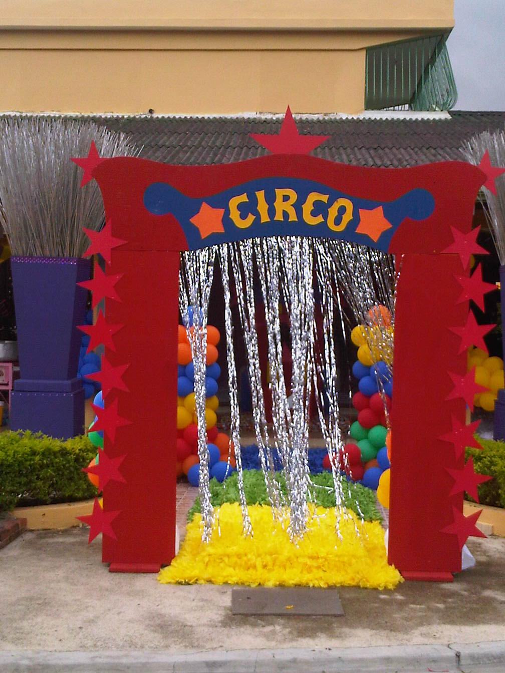 Mauricio events cumplea os infantil decoraci n estilo circo for Que estilos de decoracion existen
