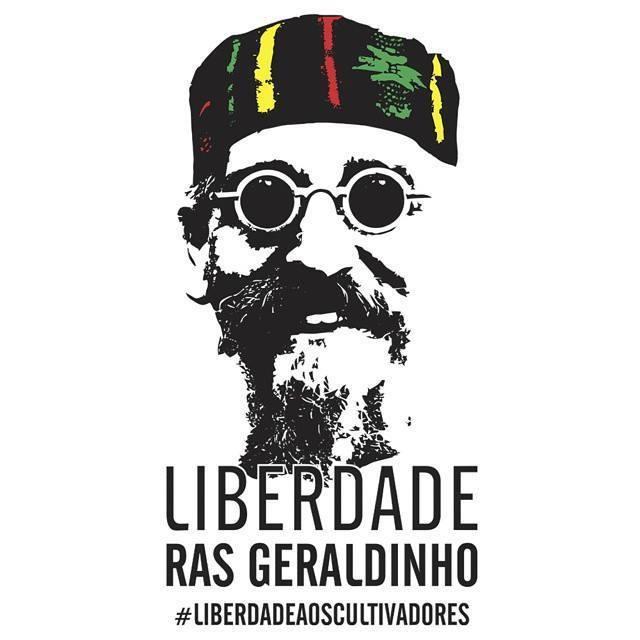 Liberdade Ras Geraldinho!!!