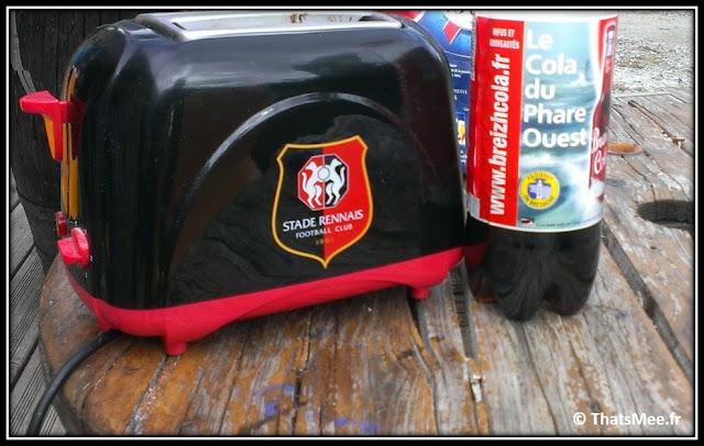 Rennes grille-pain Stade Rennais FC Coca cola breizh