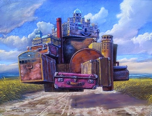 12-Nomad-Capital-Marcin-Kołpanowicz-Paintings-of-Creative-Surreal-Worlds-ready-to-Explore-www-designstack-co