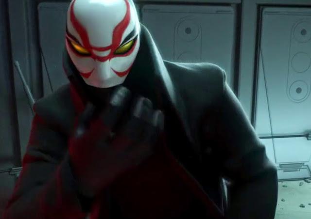 Kabuki Mask Big Hero 6