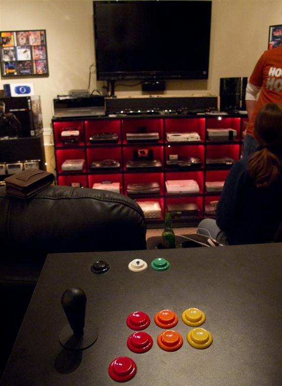 La mejor sala hogareña de videogames 4