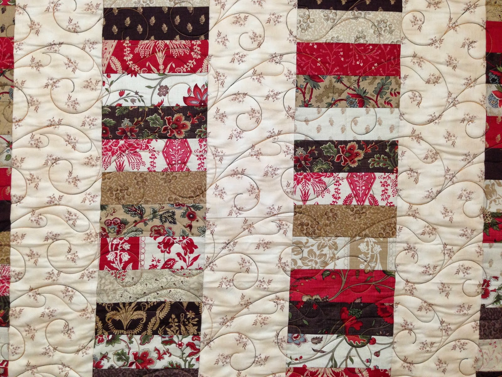 Jean Tucker Strip Stacked Quilt