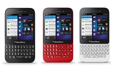 Blackberry Q5, Harga 4 Jutaan di Pasar Indonesia