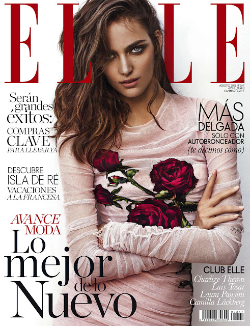 Fashion Model @ Zuzanna Bijoh by Xavi Gordo for Elle Spain, August 2015