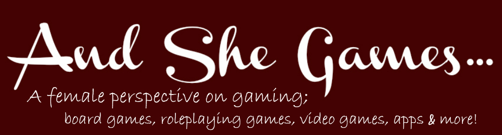 And She Games...