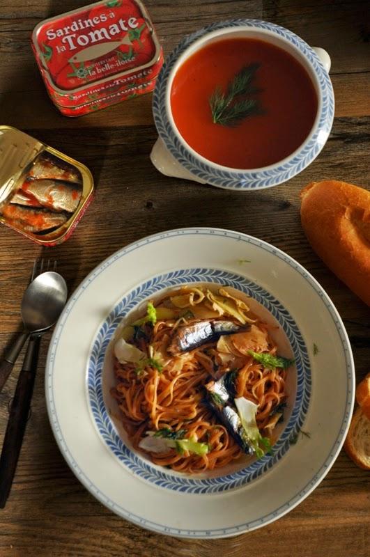 D lices et caprices sardine et tomate - Comment faire griller des sardines ...