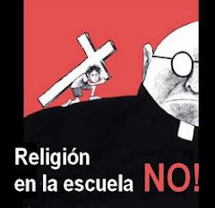 RELIGIÓN EN LA ESCUELA: NO