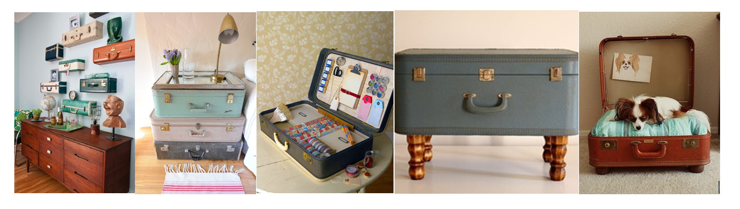 if walls could dream 6 things to do with old suitcases