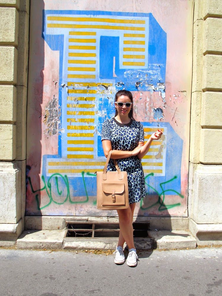 London fashion and lifestyle blogger Emma Louise Layla in Budapest, Hungary