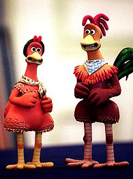 Chicken run rocky and ginger - photo#15