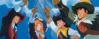 ... do anime D'Artagnan e os Três Mosqueteiros