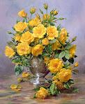 sarı gülller