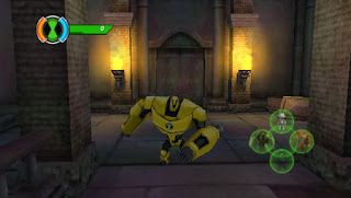 Ben 10 Ultimate Alien Cosmic Destruction PSP Game Photo