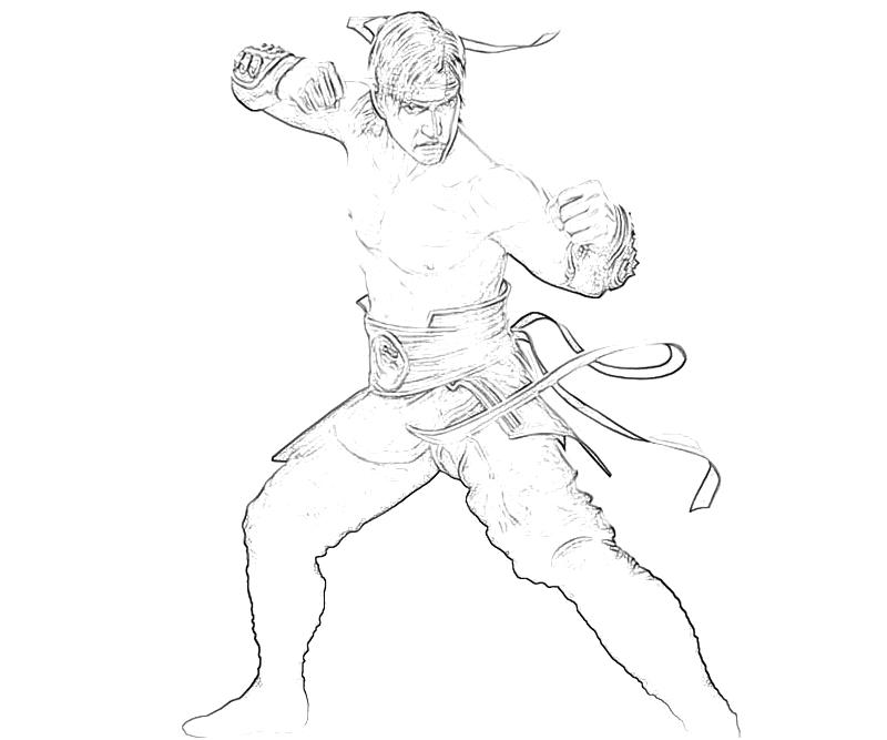 Mortal Combat Liu Hang Fire Surfing