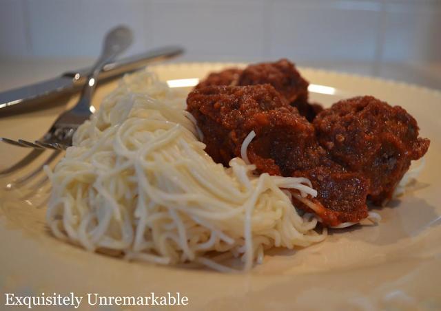 crock pot meatballs and sauce