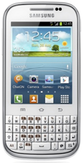 Samsung GALAXY Chat Gets Announced. An Android ICS Smartphone with Feature Phone Design and QWERTY keyboard