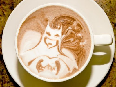 Batman in My Coffee