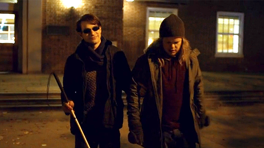 Matt Murdock and best friend Foggy Nelson at college