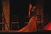 Fuensanta la Moneta en Sevilla, actuación el 19 de marzo de 2012 en el Teatro Lope de Vega de Sevilla