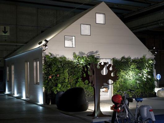 Casa de madera prefabricada con el concepto moderno casas decoracion - Casa de madera prefabricada ...