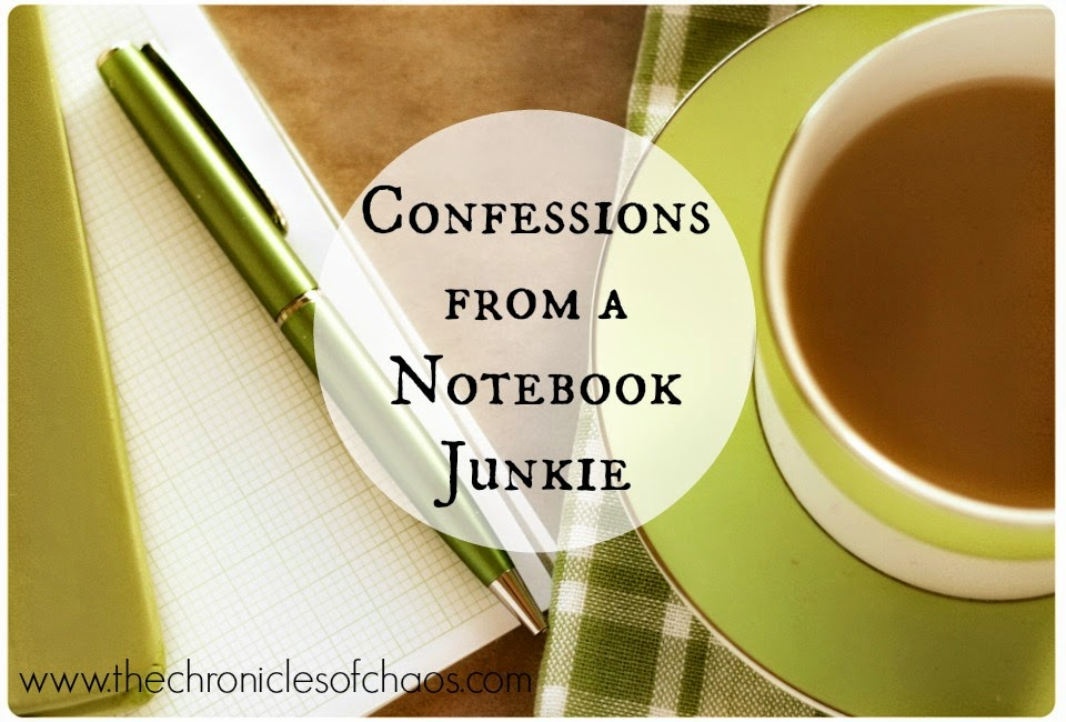 Confessions from a Notebook Junkie