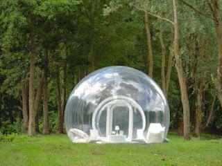 透明テント