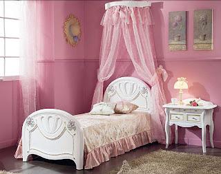 dormitorios juveniles rosa