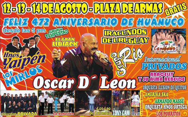 ANIVERSARIO DE HUANUCO 2012 - 472 aniversario de huanuco peru via huanuco.blogspot.com