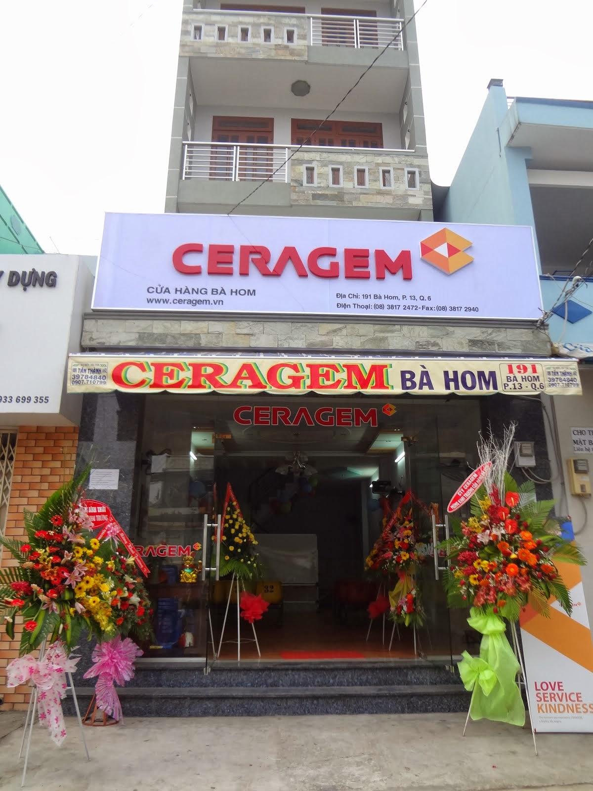 Bảng hiệu hệ thống CERAGEM