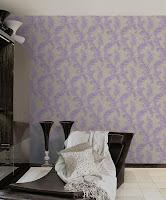 Roberto Cavalli, Pret Tapet, Modele Tapet, Montaj Tapet, model floral mov pe crem