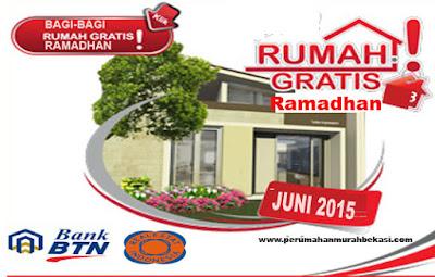 Bagi-Bagi Rumah Gratis Di Bulan Ramadhan Bersama BTN -REI