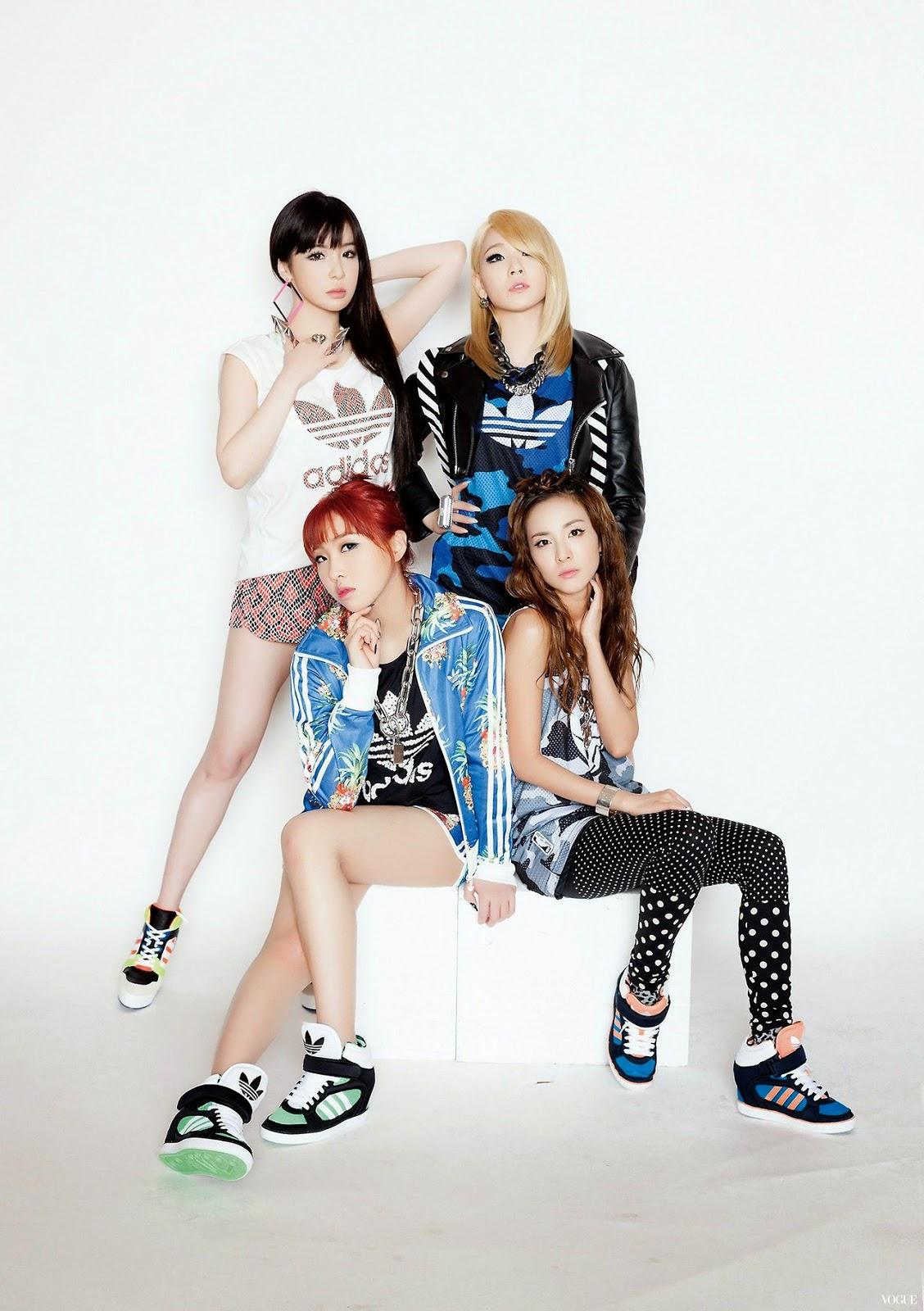 2NE1 - Adidas CF