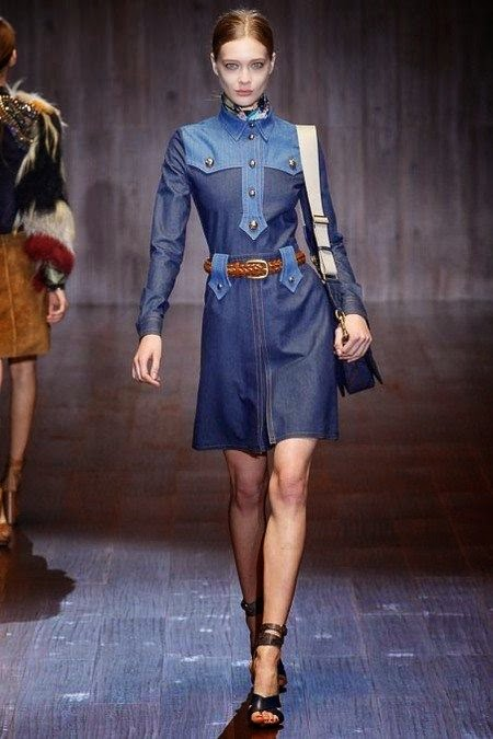 Look Denim 2015 - Vestido de ganga