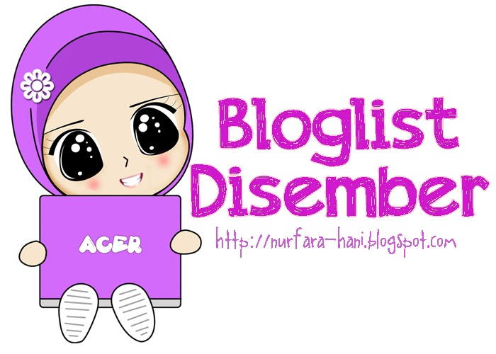bloglist disember