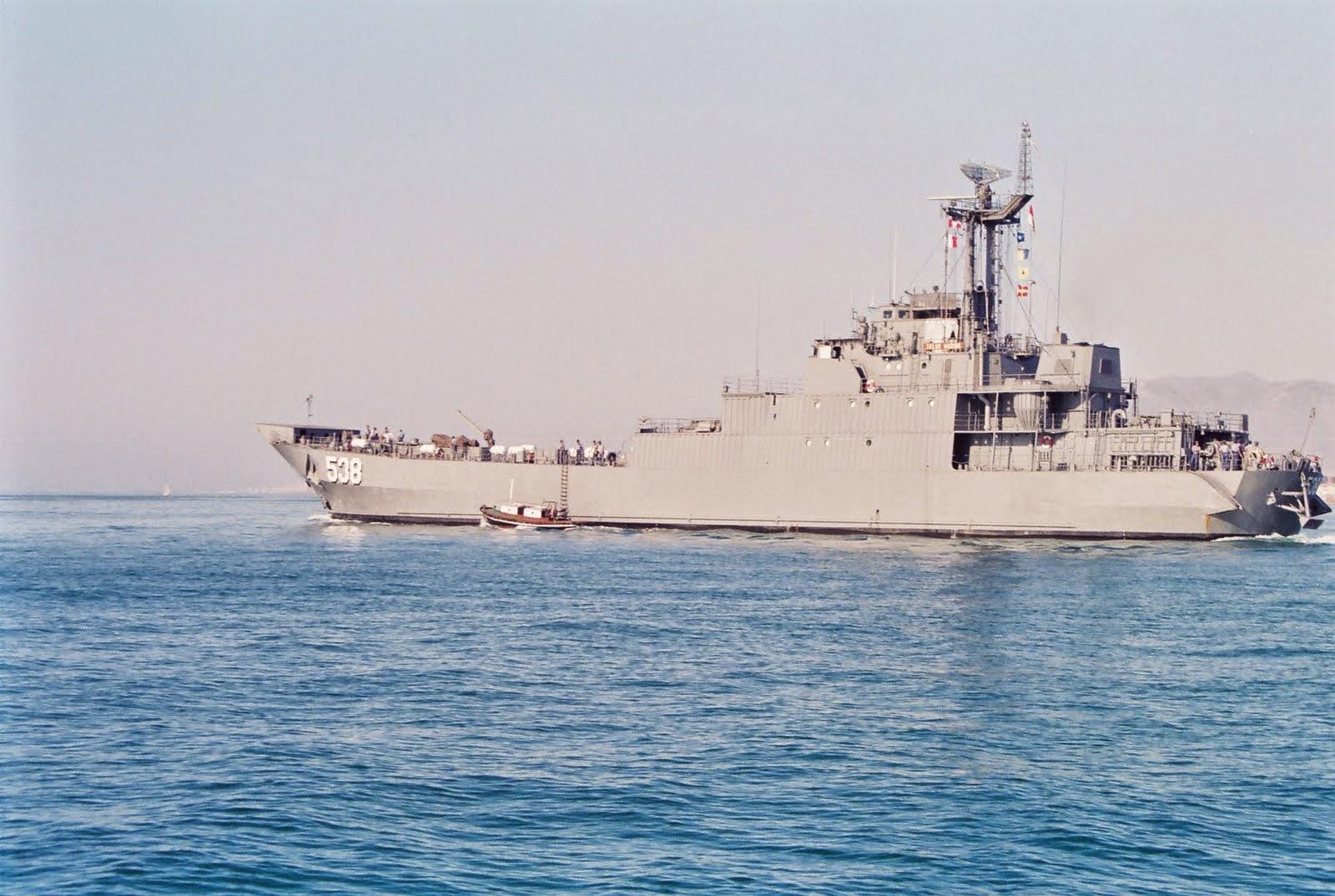 KRI Teluk Hading-538 Dukung Pergeseran Pasukan Pengamanan Pulau Terluar