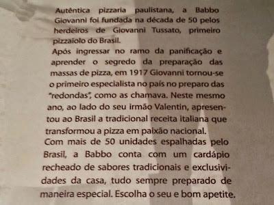 Babbo Giovanni: História