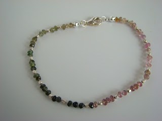 tourmaline and silver jewelry