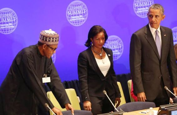 Buhari, Obama, Ban Ki-Moon At UN General Meeting (Photos)