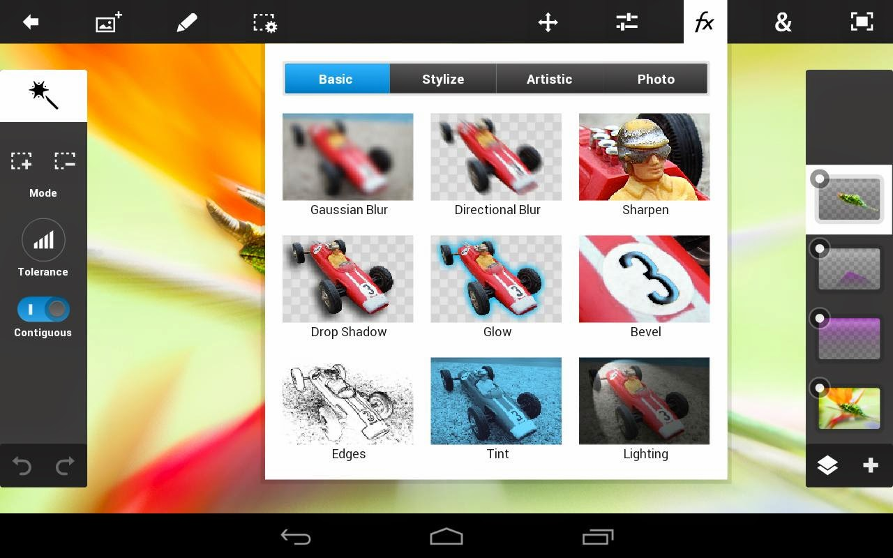 Adobe Photoshop Touch Android