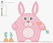 DigKnitty Designs: Happy Easter Bunny Knit Dishcloth Pattern happy easter bunny