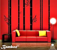 Bamboo Mural1